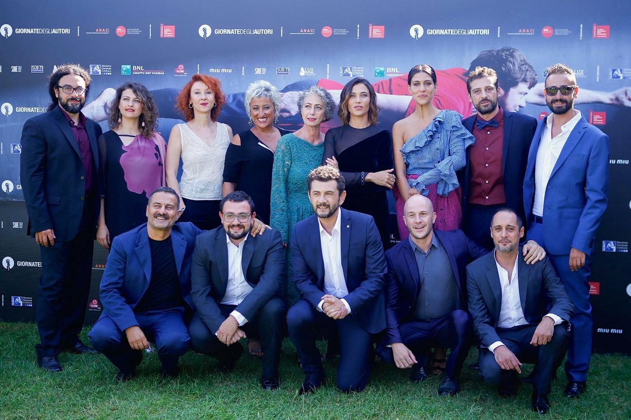 Foto di gruppo film IL CONTAGIO a Venezia