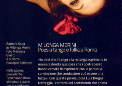Inside Art - recensione Milonga Merini