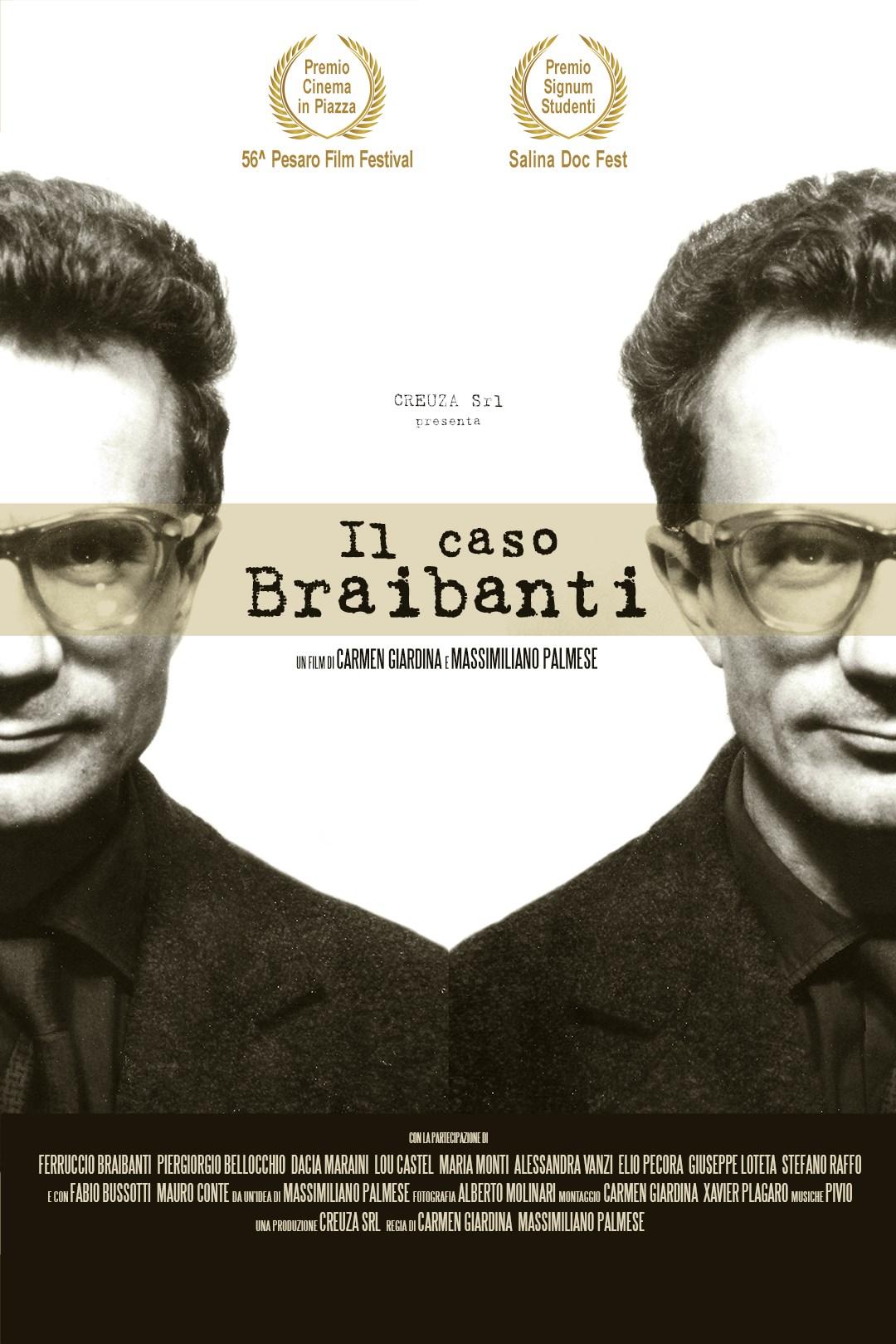 Locandina de Il Caso Braibanti un film di Carmen Giardina e Massimiliano Palmese